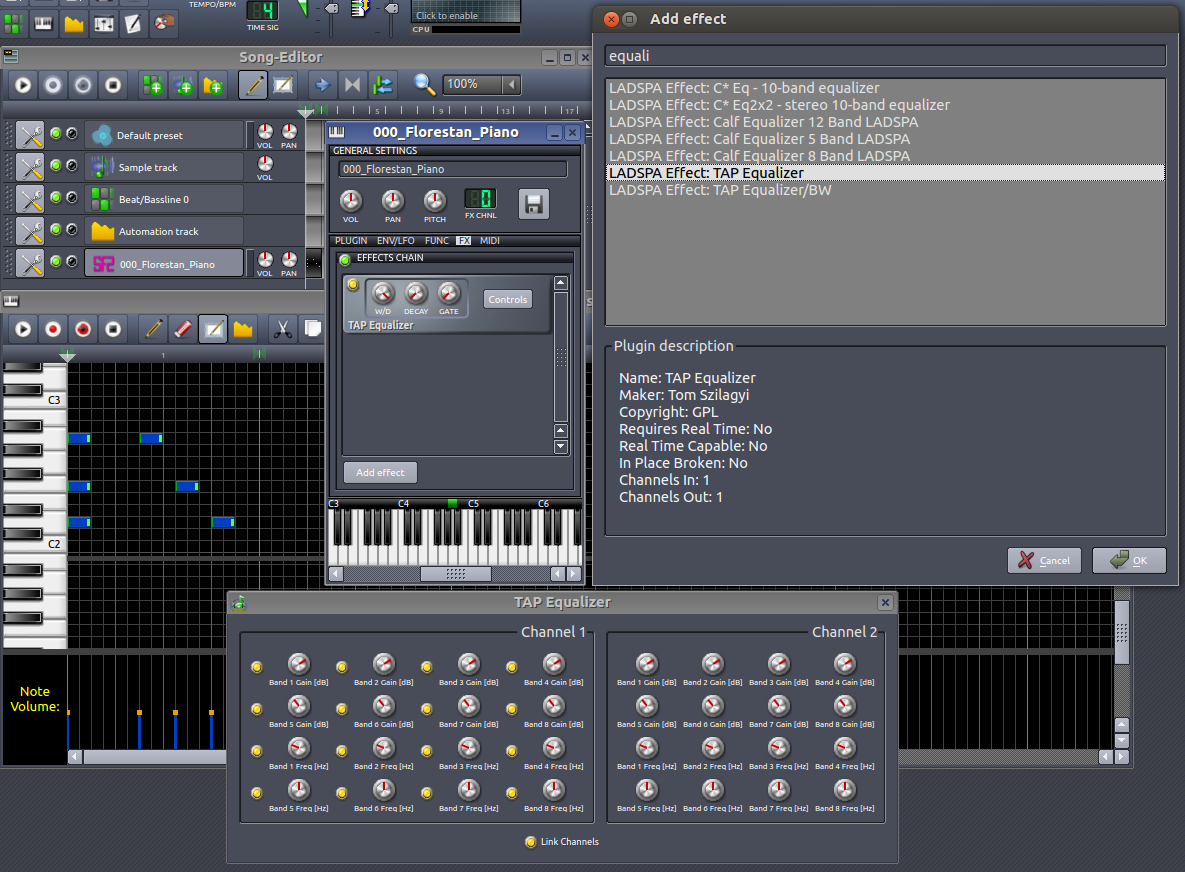 Nickleus Music Technology Blog: LMMS - how to create a soft