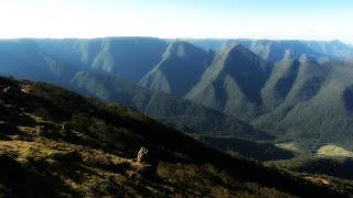 Montanhas na Serra da Rocinha, em São José dos Ausentes