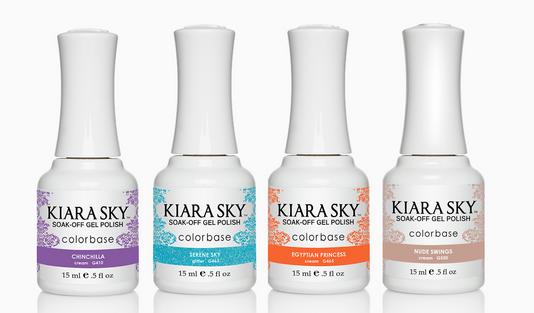First Look Fridays, Nikki Diamond, nail artist, manicurist, interview, Kiara Sky Soak-Off Gel Polish ColorBase