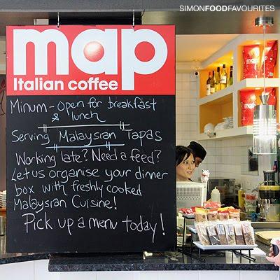Simon Food Favourites: Minum: Malaysian & Café, Martin Place