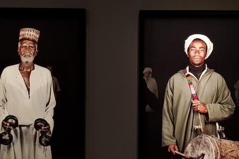 """معرض """"المغاربة"""" بمراكش يبث الحياة في صور الراحلة ليلى علوي"""