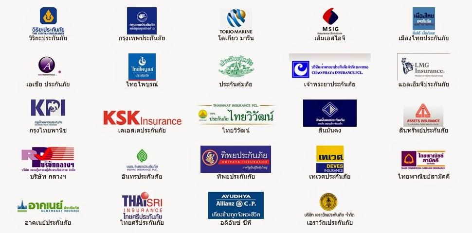 เช็คราคาเบี้ยประกันภัยฟรี 20 บริษัทชั้นนำ