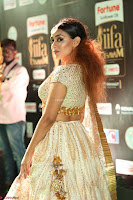 Apoorva Spicy Pics in Cream Deep Neck Choli Ghagra WOW at IIFA Utsavam Awards 2017 97.JPG
