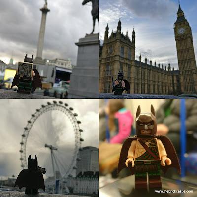 Tartan Batman tours London Nelsons column eye tube big ben