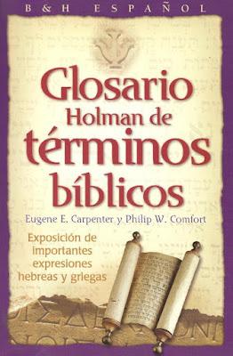 Varios Autores-Glosario Holman De Términos Bíblicos-