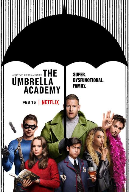 Série TV The Umbrella Academy L'Agenda Mensuel - Février 2019