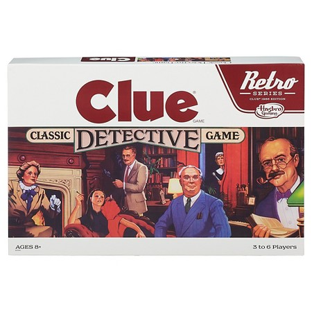 Harris Sisters Retro Clue Game