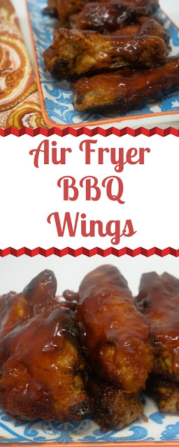 Air Fryer BBQ Chicken Wings