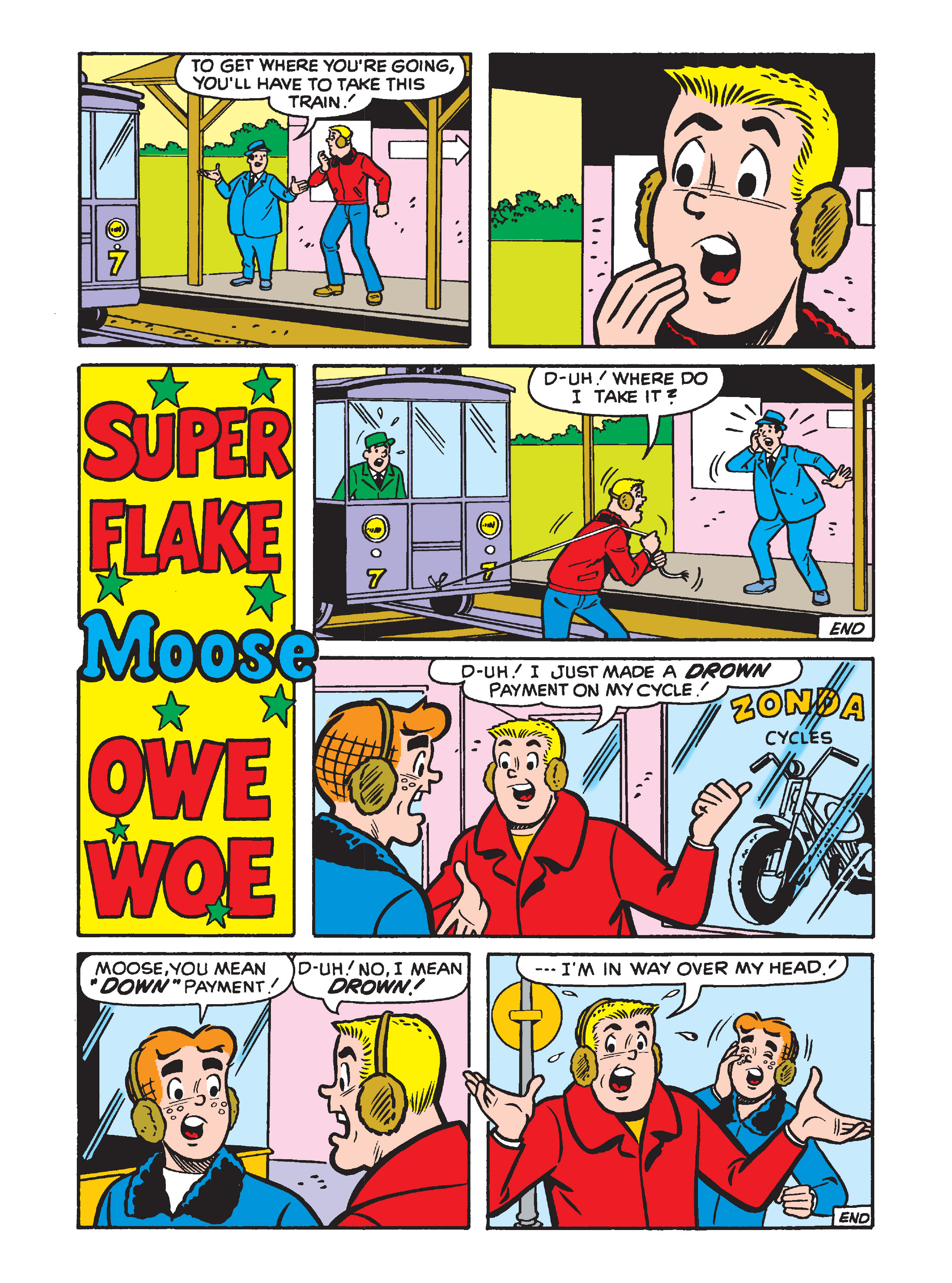 Read online Archie's Funhouse Double Digest comic -  Issue #2 - 59