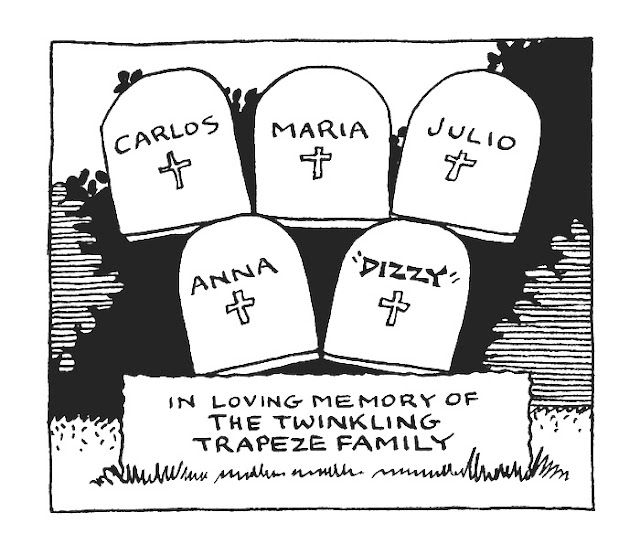 circus cartoon, cemetary cartoon