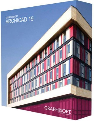 GRAPHISOFT ArchiCAD 19 build 8000 poster box cover