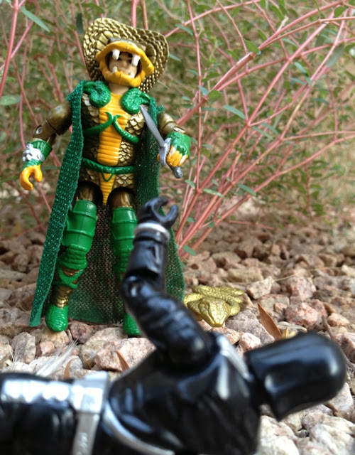 1986 Serpentor, Cobra Emperor, 1993 Battle Corps Cobra Commander