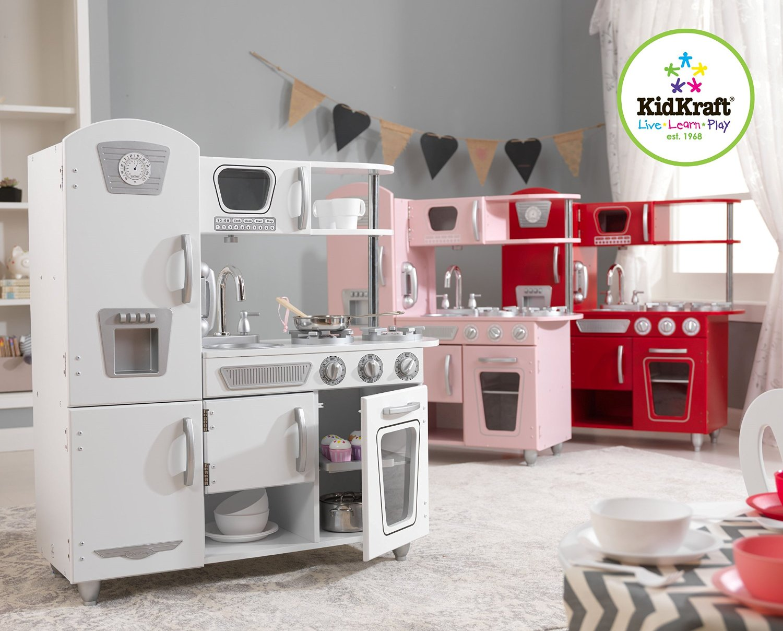 kid craft kitchen childs 開箱 step2 廚房玩具組 媽咪拜mamibuy kidkraft vintage