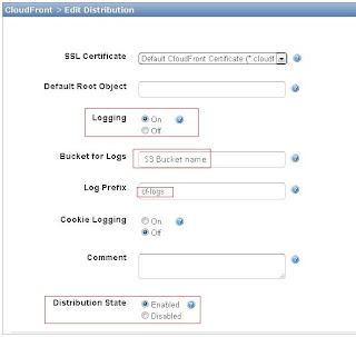 Checking the amazon cloudfront edge-location in use