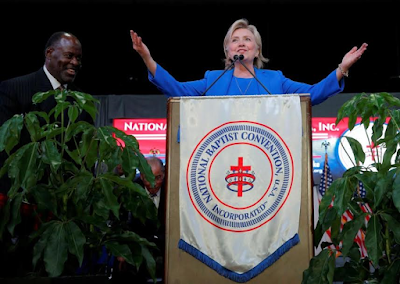 Hillary Clinton:How faith has led me to a life of service & how it'll guide me as President'