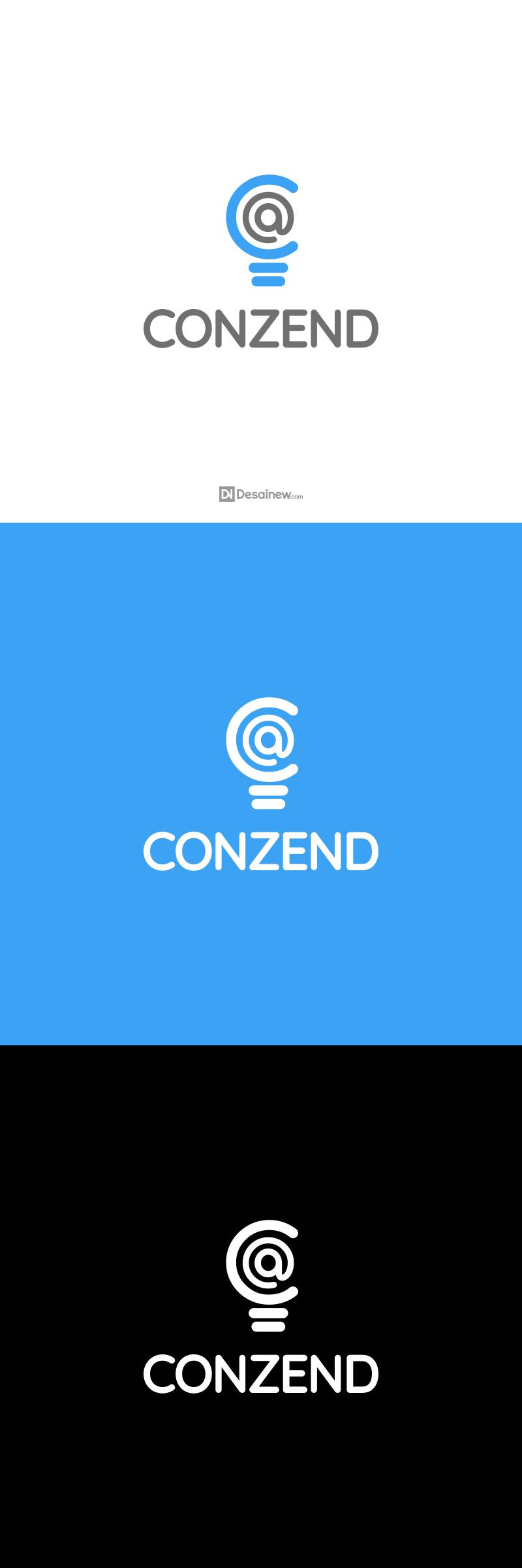 Conzend Logo Design Project Portfolio Desainew Studio