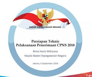 persiapan seleksi CPNS 2018