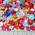 Flower Buttons 11mm (more colours)