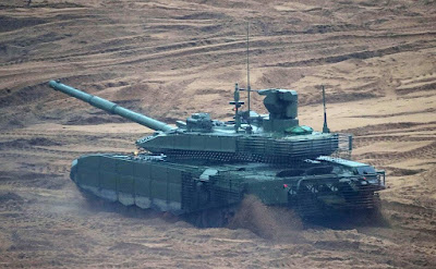 Russian Tank. Zapad 2017 military exercises.