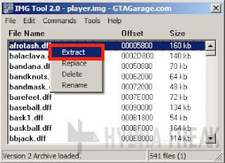 Cara mengekstrak berkas dengan IMG Tool 2.0 - 1