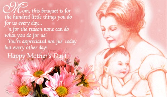 Happy Mothers Day Greetings 2014