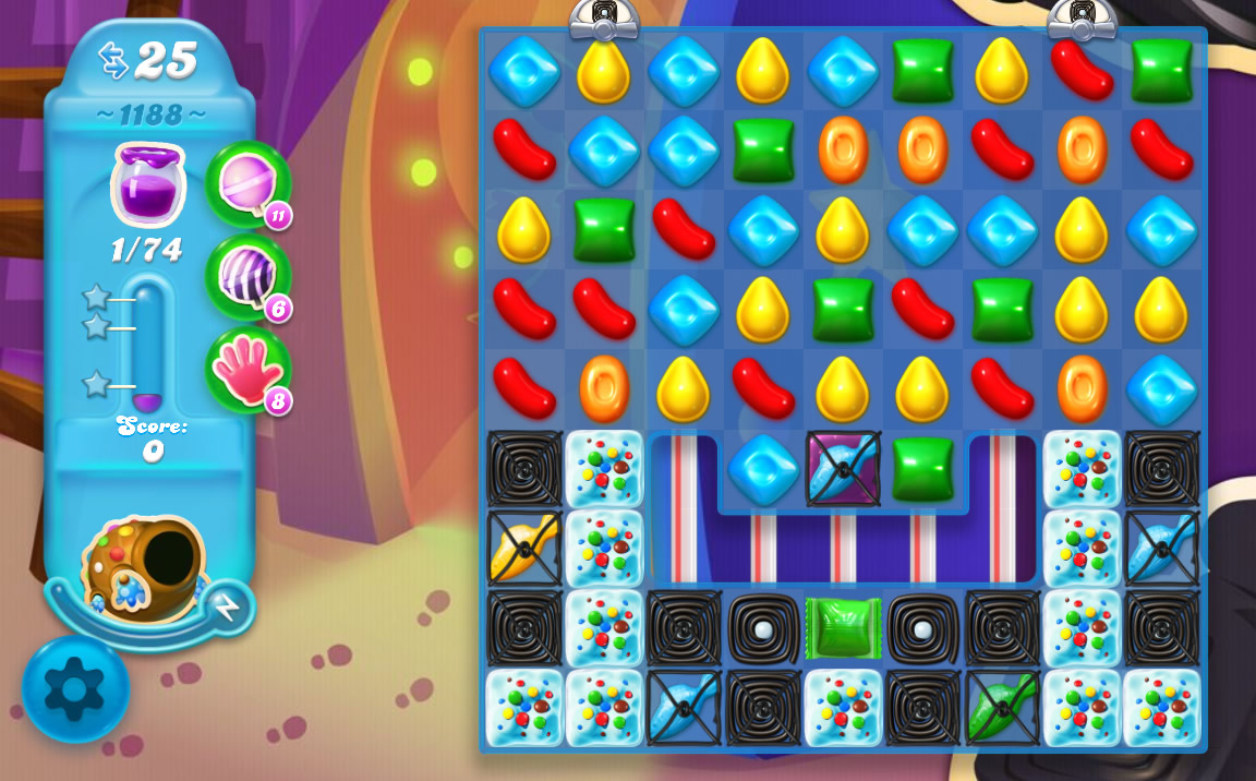 Candy Crush Soda Saga level 1188