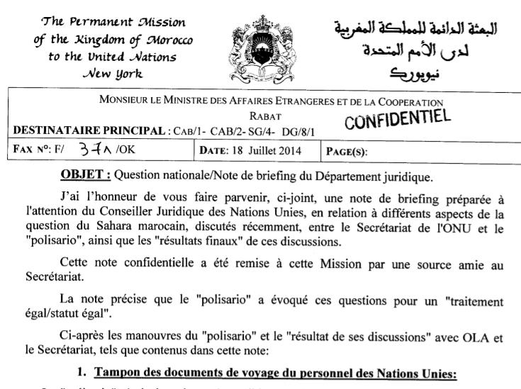 voyage maroc document