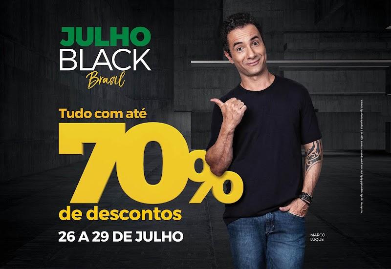 Shoppings do Rio promovem liquidação 'Julho Black Brasil' com descontos de até 70%