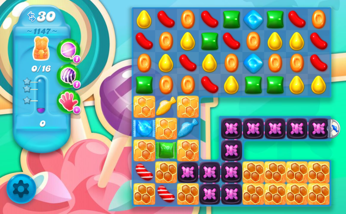 Candy Crush Soda Saga level 1147