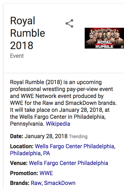 free to find truth: Royal Rumble (In Philadelphia
