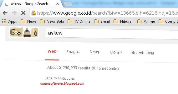 gambar fitur unik tilt dan askew google