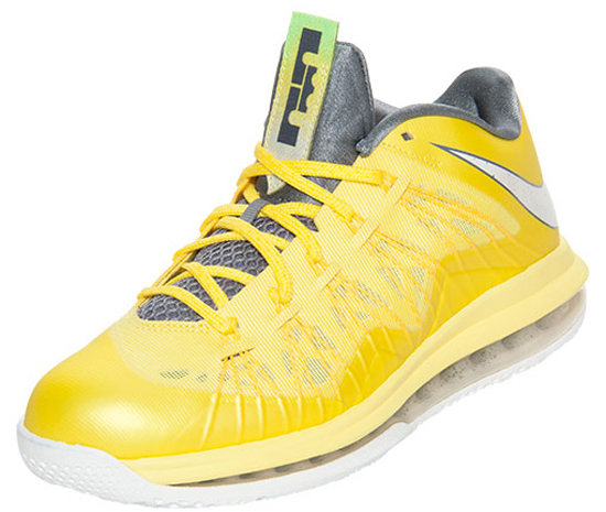45351278f4f3 ajordanxi Your  1 Source For Sneaker Release Dates  Nike Air Max LeBron X Low  Sonic Yellow Sail-Cool Grey-Tour Yellow Release Reminder