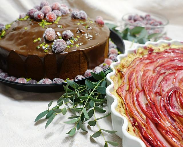 Festliche Kuchen für die Weihnachtszeit