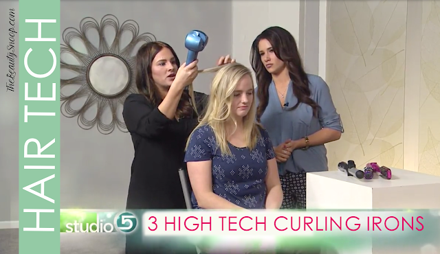 HIGH TECH CURLS WITH HIGH TECH IRONS