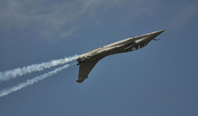 Dassault Rafale Inverted Flight