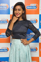 Shravya in skirt and tight top at Vana Villu Movie First Song launch at radio city 91.1 FM ~  Exclusive 21.JPG