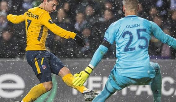 ملخص مباراة كوبنهاجن وأتلتيكو مدريد | الدوري الأوروبي