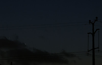 Jupiter Venus and Mercury May 27th 2013