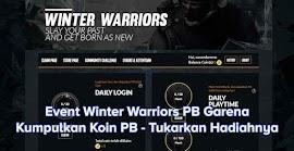 Event Bulanan Winter Warriors PB Garena, Tukar Koin dengan Hadiah Menarik