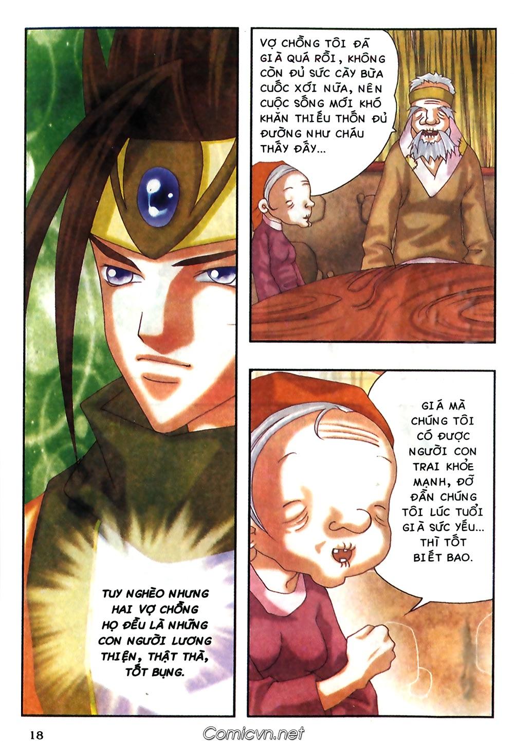 Thần thoại Bắc Âu - Chapter 38: Sứ mệnh đặc biệt - Pic 19