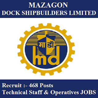 Mazagon Dock Limited, MDL, freejobalert, Sarkari Naukri, MDL Answer Key, Answer Key, mdl logo