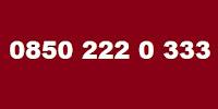 0850 222 0 333 Kimin Telefon Numarası