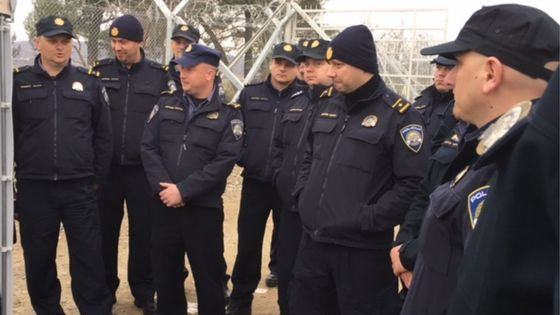Another Czech police team goes to help protect Macedonian border