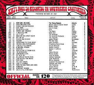 KHJ Boss 30 No. 120 - October 18, 1967
