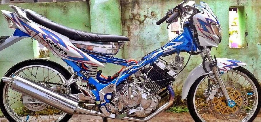 contoh gambar motor drag