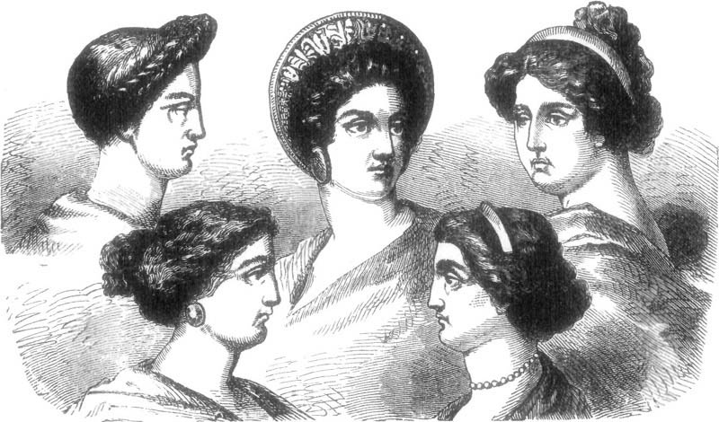 Swell Vintage Amp Antique Fashion Ancient Roman Hairstyles Short Hairstyles For Black Women Fulllsitofus