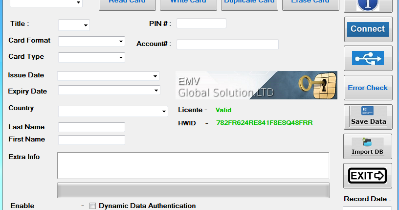 EMV Reader Writer v8 6 ~ HACK2WORLD ®