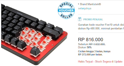 Awas! Pencurian Data Melalui Keyboard yang Beredar di Indonesia