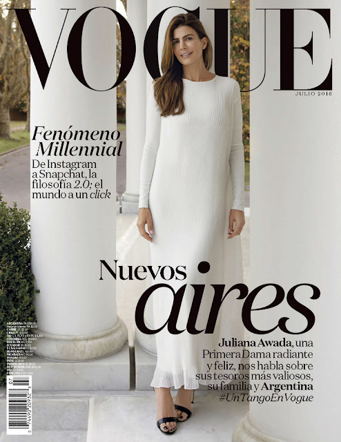 Entrepreneur, @ Juliana Awada - Vogue Latin America, July 2016