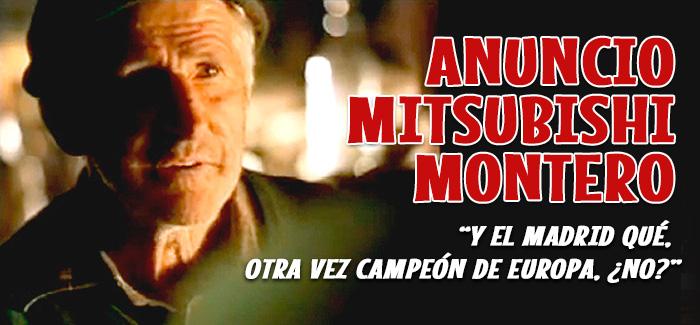 Anuncio Mitsubishi Montero